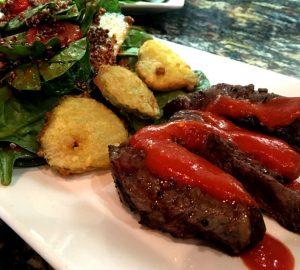Delicious Rib Eye Steak in The Cask Restaurant