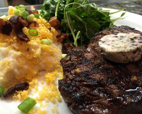 Enjoy Grilled Steak at Cask Restaurant